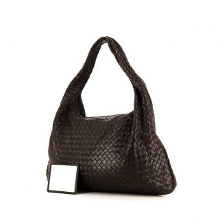 ... High Quality Bottega Veneta Replica Veneta handbag in brown intrecciato  leather ... 4caf0b48eda6c